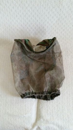 Mosquito head covering. Has a camouflage look/color. for Sale in Manassas, VA