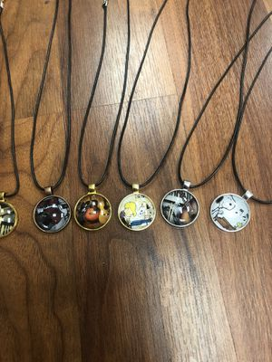 Music necklaces price is for each for Sale in Woodbridge, VA