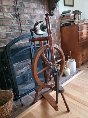 Antique spinning wheel for Sale in Lacey, WA