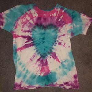 Handmade Tie Dye Heart Shirt for Sale in Henderson, NV