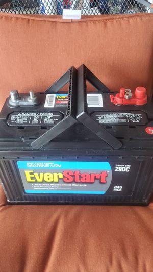 Everstart 29 dc marine & rv battery for Sale in Jacksonville, FL