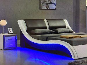 King 699$ Full 599$ Platform upholstered Faux Leather bed for Sale in Fort Lauderdale, FL