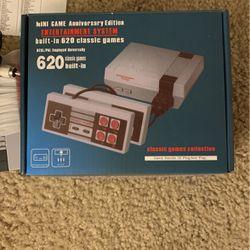 Old Style Mini Super Nintendo Anniversary Addition 620 Classic Built In Game's for Sale in Brier,  WA