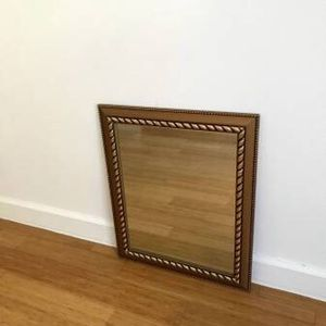 "23""×19.3"" Large gold wall mirror/ antique style/golden/decor/classic - for Sale in New York, NY"
