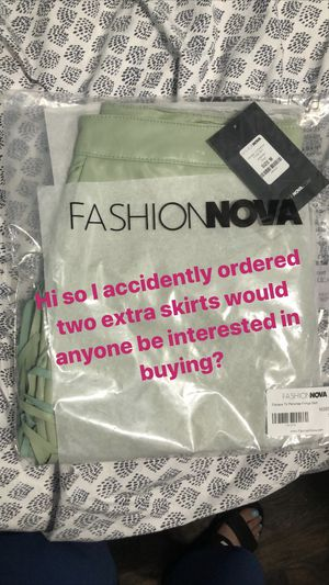 Fashion Nova Skirt for Sale in Fort Worth, TX