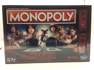 Hasbro Monopoly Board Game Stranger Things Edition - C4550 for Sale in San Antonio, TX