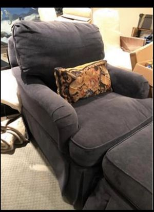 Chair and ottoman for Sale in Falls Church, VA