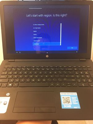 HP 15.6 laptop for Sale in Indiantown, FL
