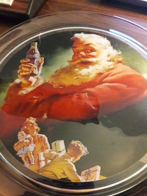1993 collectible coca cola glass tray for Sale in Phoenix, AZ