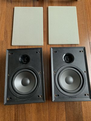 Klipsch IW-150 Two Way In-Wall / In-Ceiling Loudspeakers (pair) for Sale in Naperville, IL