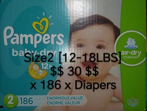 Diapers Size 2 PAMPERS for Sale in Las Vegas, NV