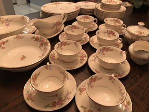 Pope Gossier Antique China set for Sale in Tampa, FL
