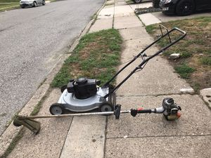 Lawnmower and trimmer for Sale in Philadelphia, PA