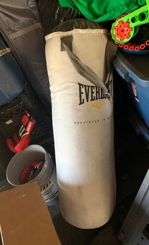 Everlast 70lb punching bag for Sale in Anaheim, CA