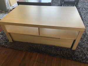Coffee table media TV stand for Sale in La Mesa, CA