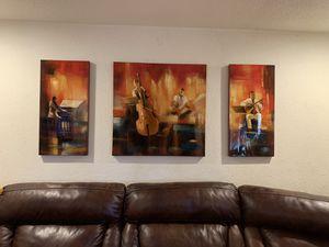 acrylic canvas painting set for Sale in Phoenix, AZ