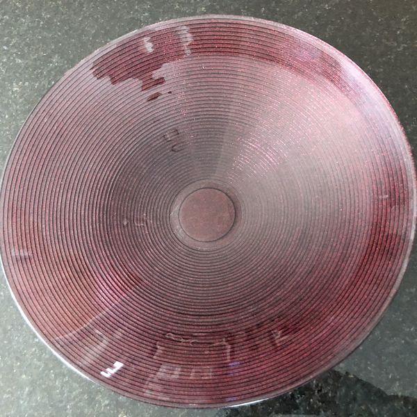 Large Decorative Glass Bowl