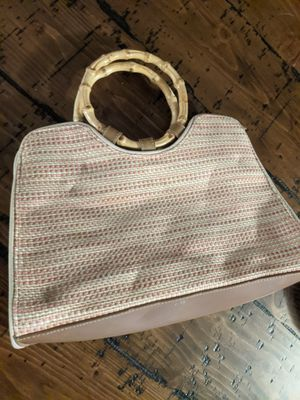 Vintage Fossil Woven Tote Bag for Sale in Glendale, AZ