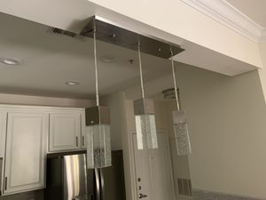 3 led light kitchen island pendant light fixture for Sale in Reston, VA