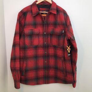 Hawx Work Gear NWT Men's Large Plaid Insulated Jacket Shirt for Sale in El Dorado Hills, CA