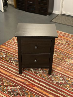 IKEA HEMNES night bedside table chest for Sale in Los Angeles, CA