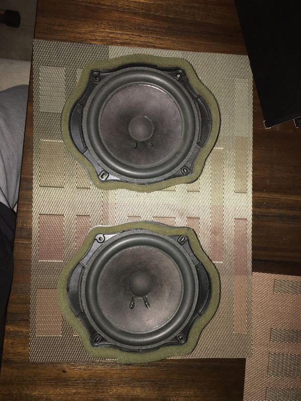 Rear Door Speakers