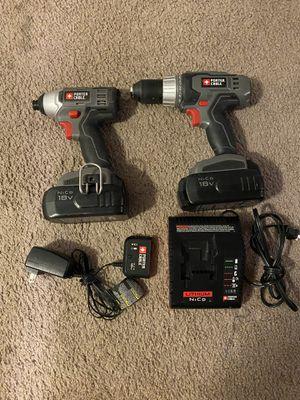 Drill & impact gun for Sale in Philadelphia, PA
