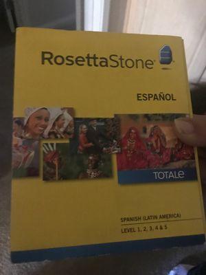 Rosetta stone espanol for Sale in Fullerton, CA