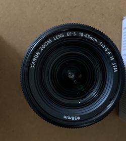 Canon lens 18-55mm EFS & Tripod for Sale in Las Vegas,  NV
