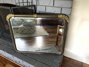 Antique beveled glass mirror for Sale in Oregon City, OR