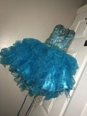 Turquoise blue special event dress for Sale in Philadelphia, PA