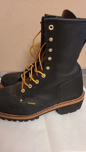 Rhino Work Boots Size 9 for Sale in Cape Coral, FL