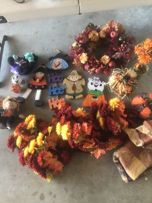 Halloween and fall decoration for Sale in San Diego, CA