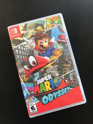 Super Mario Odyssey - Nintendo Switch - FREE DELIVERY IN SF for Sale in San Francisco, CA