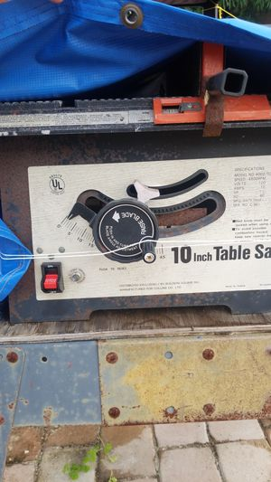 "10"" table saw. for Sale in Pompano Beach, FL"