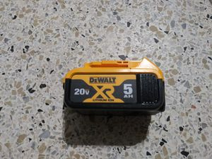 Dewalt 5.0 battery $60 for Sale in Miami, FL