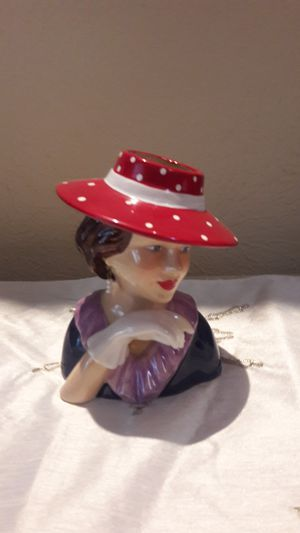 Lady's head vase for Sale in Dallas, TX