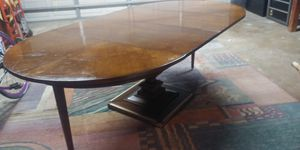 Antique wood dining table with 2 extensions for Sale in Seal Beach, CA