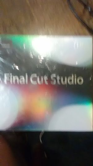 Final Cut Studio Upgrade. ( DVD, Software). for Sale in New Franklin, OH