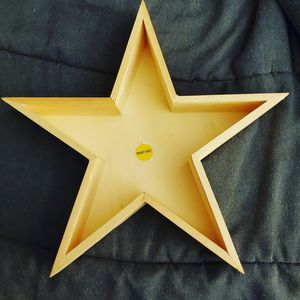 Wooden craft star for Sale in Concord, NC