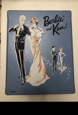 1963 Barbie and Ken carrying case for Sale in Parma, OH