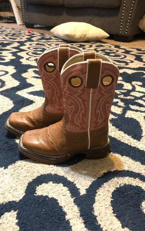 Toddler Girls Western Boots 8.5 for Sale in Dinuba, CA