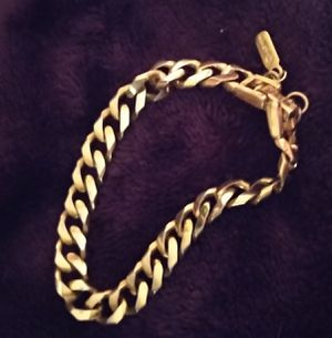 Monet Classic Cuban Link-Chain Bracelet for Sale in Gladstone, OR