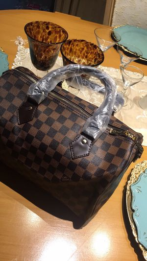 Checkered Duffle Bag for Sale in Cypress, TX