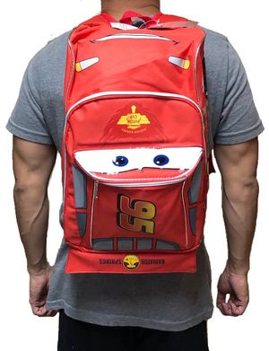 """Brand NEW! CARS """"Lightning McQueen"""" Backpack For School/Traveling/Everyday Use/Disneyland Trips/Christmas Gifts/Birthday Gifts $22 for Sale in Carson, CA"""