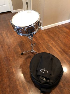 Snare drum and case for Sale in Young, AZ