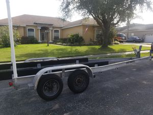 2003 continental aluminum boat trailer for Sale in Lakeland, FL