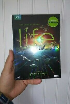 Brand new 4 disc DVD set BBC Discovery Channel Life narrated by Oprah Winfrey for Sale in Whittier, CA