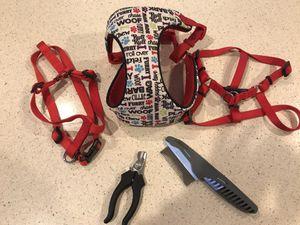 Dog Gear harnesses plus for Sale in Lincoln, CA