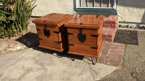 Industrial chest end tables for Sale in Hayward, CA